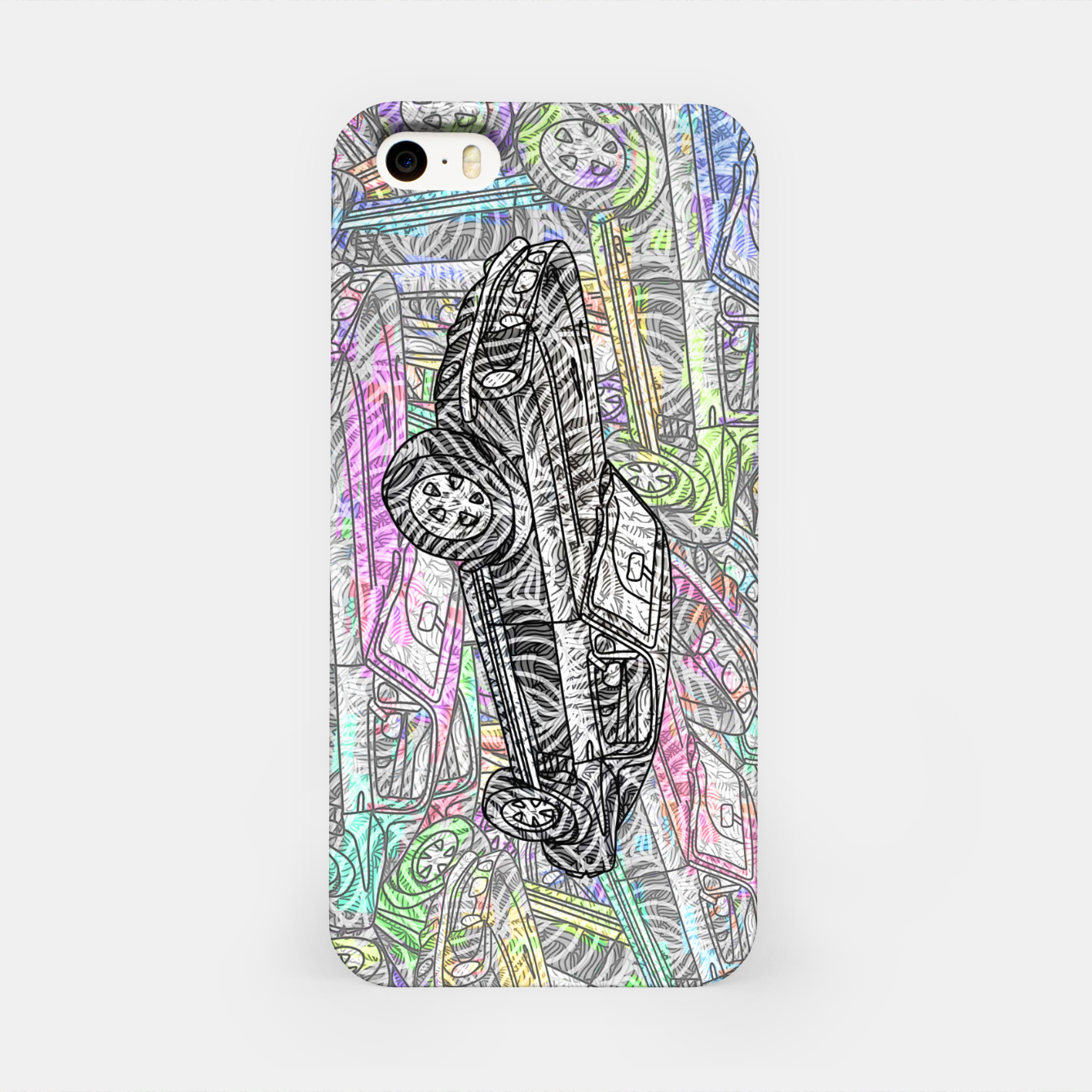 Image of keep driving iPhone Case - Live Heroes