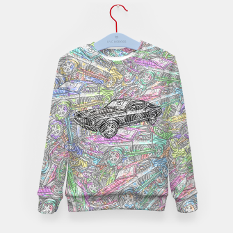 Thumbnail image of keep driving Kid's sweater, Live Heroes