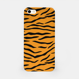 Imagen en miniatura de Orange and Black Tiger Stripes iPhone Case, Live Heroes