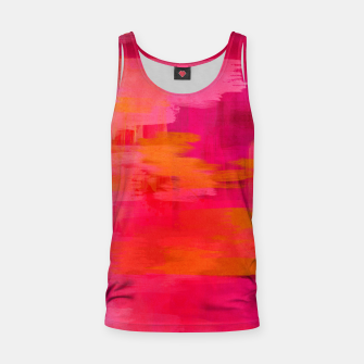 "Imagen en miniatura de ""Abstract brushstrokes in pastel pinks and oranges decorative pattern"" Camiseta de tirantes, Live Heroes"