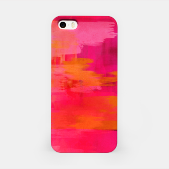 "Imagen en miniatura de ""Abstract brushstrokes in pastel pinks and oranges decorative pattern"" Carcasa por Iphone, Live Heroes"