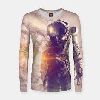 Imagen en miniatura de Disappearance III Woman cotton sweater, Live Heroes