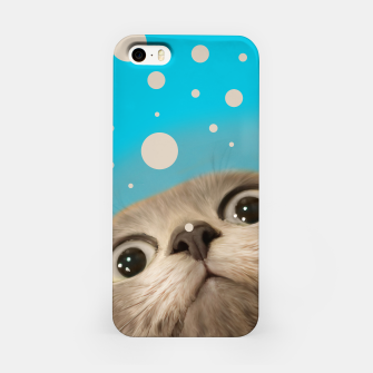 "Imagen en miniatura de ""Fun Kitty and Polka dots""  Carcasa por Iphone, Live Heroes"