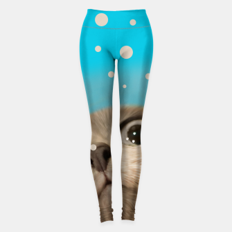 "Imagen en miniatura de ""Fun Kitty and Polka dots""  Leggings, Live Heroes"
