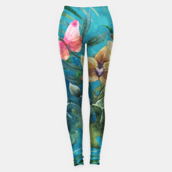 Thumbnail image of Pink Butterfly Leggings, Live Heroes