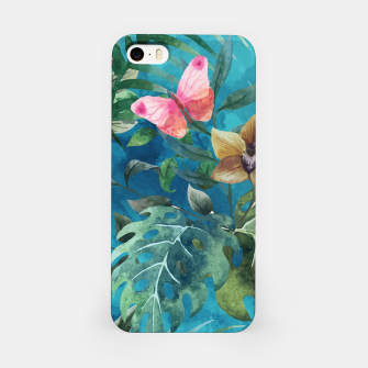 Pink Butterfly iPhone Case obraz miniatury