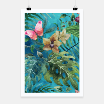 Thumbnail image of Pink Butterfly Poster, Live Heroes