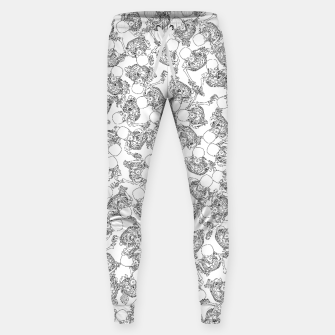 Thumbnail image of Exit Through The Boneyard LINE Cotton sweatpants, Live Heroes
