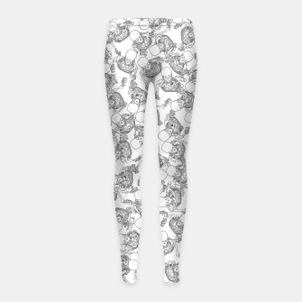 Exit Through The Boneyard LINE Girl's leggings thumbnail image