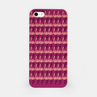 Thumbnail image of IPHONE Design luxury case Flamingos pink, Live Heroes