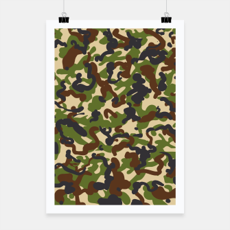 Miniatur Camouflage Poster, Live Heroes