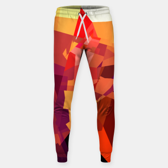 Miniatur Abstract Cotton sweatpants, Live Heroes