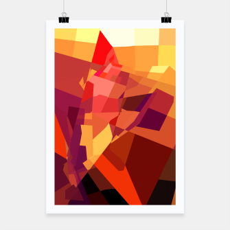 Miniatur Abstract Poster, Live Heroes