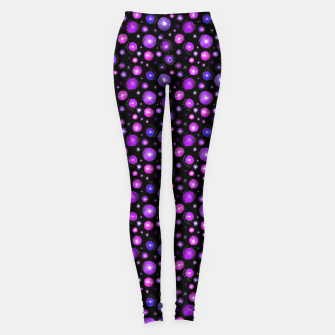 Purple Flowers  Leggings thumbnail image