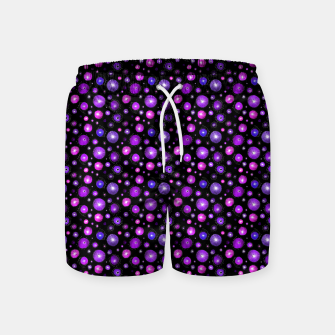 Purple Flowers  Swim Shorts thumbnail image