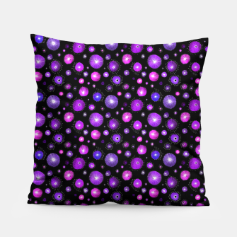 Purple Flowers  Pillow thumbnail image