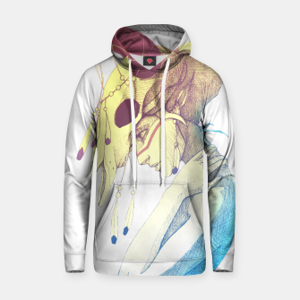 Imagen en miniatura de Woman & Skull Color simple Cotton hoodie, Live Heroes