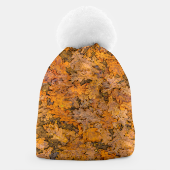 Thumbnail image of Leaves Motif Pattern Photo Beanie, Live Heroes
