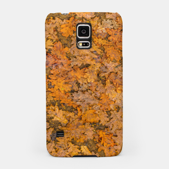 Miniatur Leaves Motif Pattern Photo Samsung Case, Live Heroes