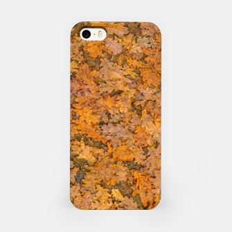 Thumbnail image of Leaves Motif Pattern Photo iPhone Case, Live Heroes