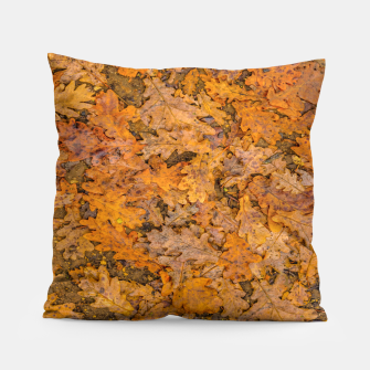 Thumbnail image of Leaves Motif Pattern Photo Pillow, Live Heroes
