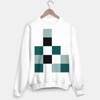 Miniatur Squares Sweater regular, Live Heroes