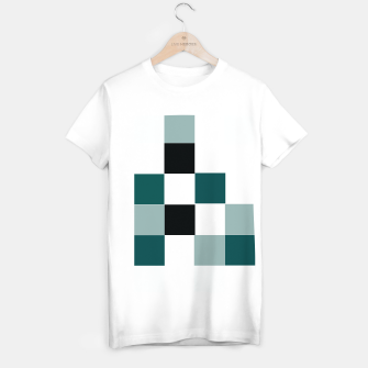 Thumbnail image of Squares T-shirt regular, Live Heroes