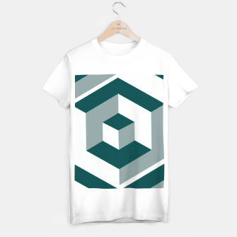 Thumbnail image of Infinity Cube T-shirt regular, Live Heroes