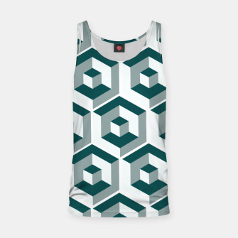 Thumbnail image of Infinity Cube Tank Top, Live Heroes
