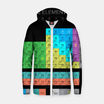 Thumbnail image of Periodic Table Of The Elements 1869s By Mendeleev Bawełniana bluza z zamkiem, Live Heroes