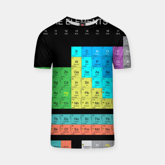Thumbnail image of Periodic Table Of The Elements 1869s By Mendeleev Koszulka, Live Heroes