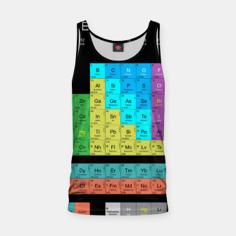 Thumbnail image of Periodic Table Of The Elements 1869s By Mendeleev Tank Top, Live Heroes