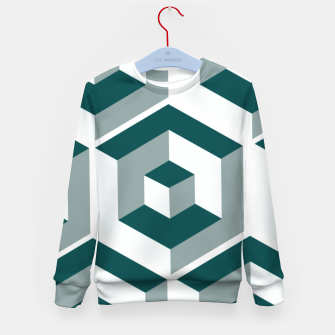 Thumbnail image of Infinity Cube Kid's sweater, Live Heroes