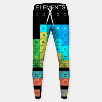 Thumbnail image of Periodic Table Of The Elements 1869s By Mendeleev Spodnie bawełniane, Live Heroes