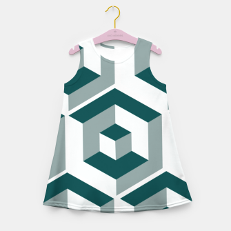 Thumbnail image of Infinity Cube Girl's summer dress, Live Heroes