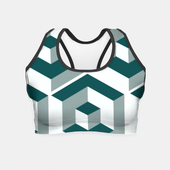 Thumbnail image of Infinity Cube Crop Top, Live Heroes