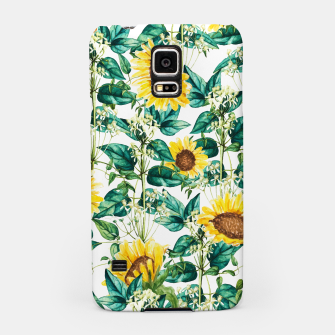Miniatur Sunflower Valley Samsung Case, Live Heroes