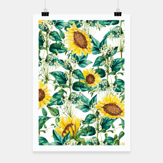 Miniatur Sunflower Valley Poster, Live Heroes