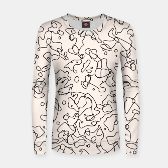 Thumbnail image of Randomness Woman cotton sweater, Live Heroes