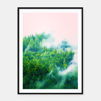 Miniatur Into The Fog Framed poster, Live Heroes