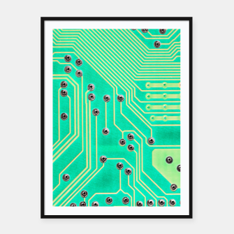 Miniatur Connections Framed poster, Live Heroes