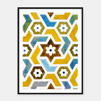 Miniatur Moroccan Bliss Framed poster, Live Heroes
