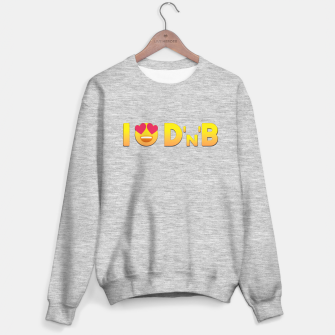Miniatur I Love Drum & Bass Sweater regular, Live Heroes