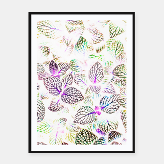 Miniatur Nature Glow Framed poster, Live Heroes