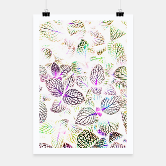 Miniatur Nature Glow Poster, Live Heroes