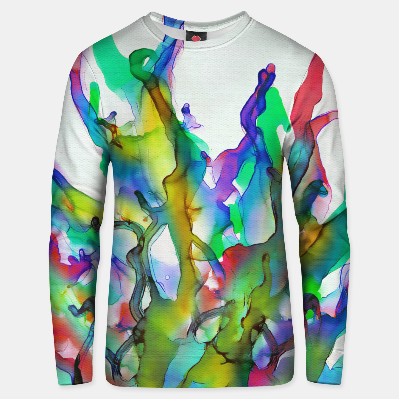 Imagen de Tropical Plant Cotton sweater - Live Heroes