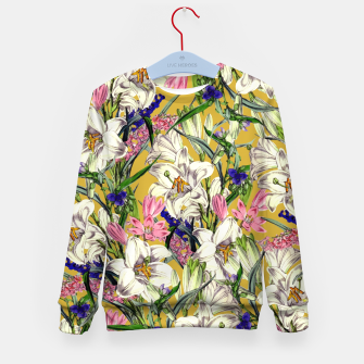 Thumbnail image of Earthy Kid's sweater, Live Heroes