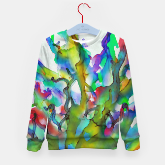 Tropical Plant Kid's sweater imagen en miniatura