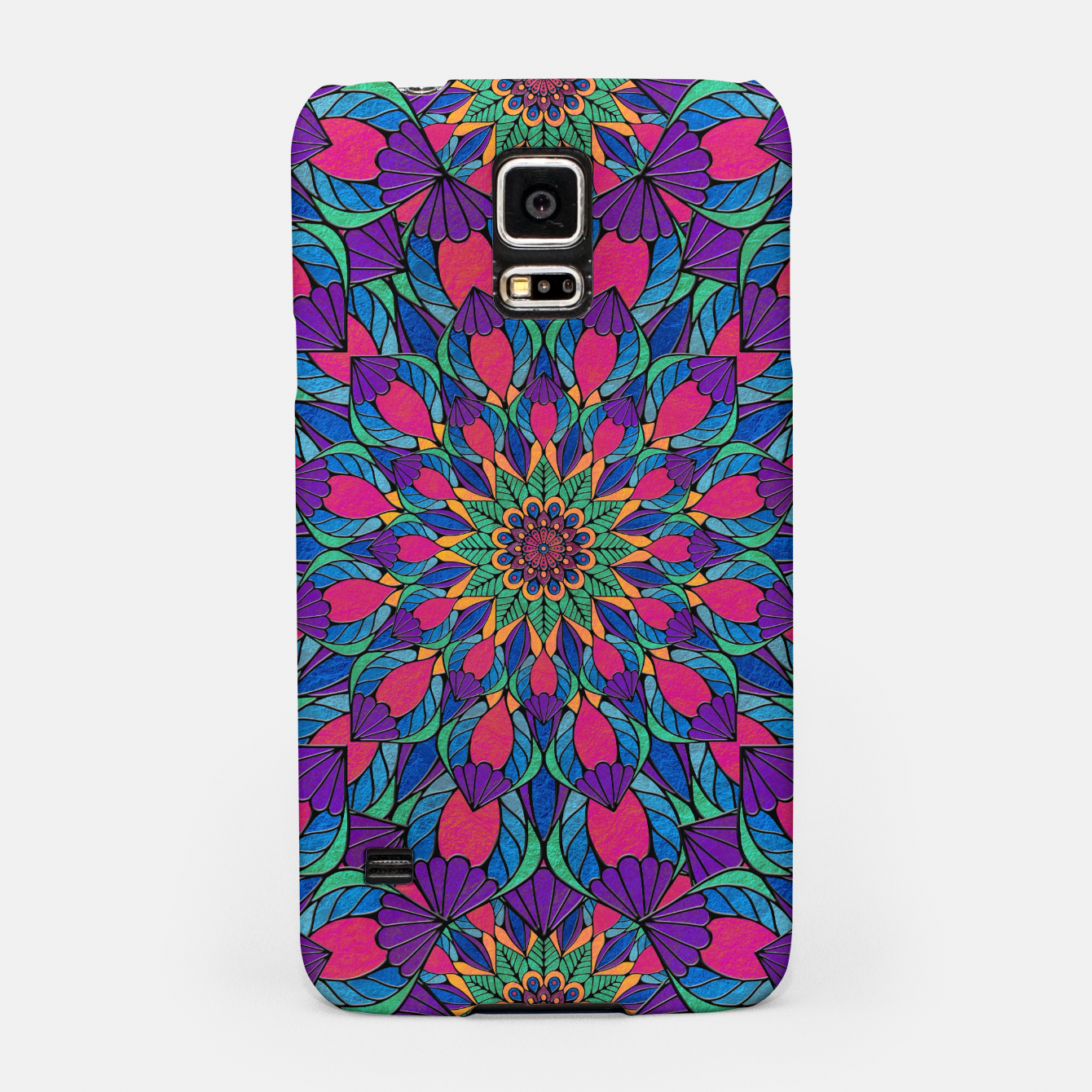 Imagen de Peacock Feather Mandala Samsung Case - Live Heroes