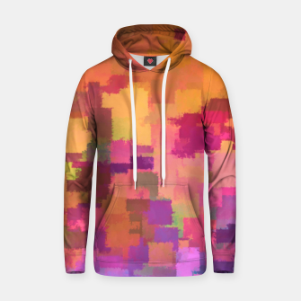 Miniatur Floral Abstract Cotton hoodie, Live Heroes